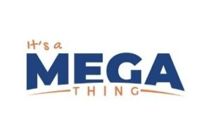 It's a MEGA thing logo