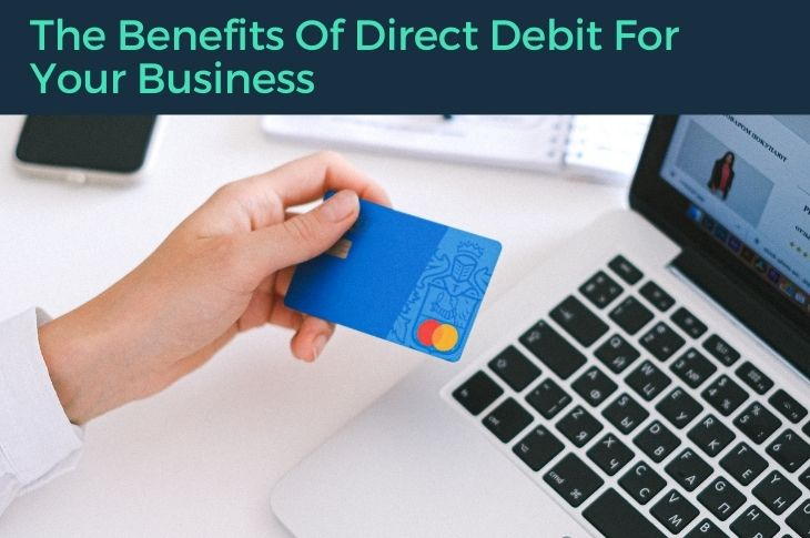 direct debit being used online.